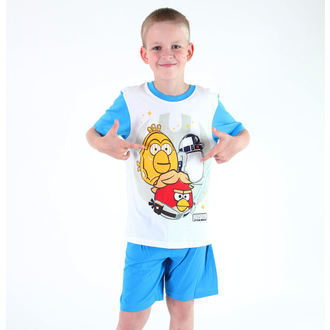 pizsama boys Tv MANIA - Angry Birds - White, TV MANIA