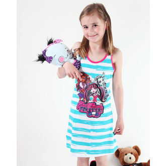 ruha lány Tv MANIA Monster High - White / Turquise
