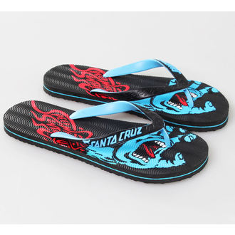 flip-flop női unisex - Screaming - SANTA CRUZ - Black - MAFSP