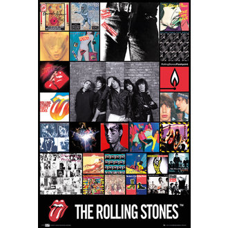 poszter The Rolling Stones - Discography Maxi - LP1675