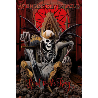 poszter Avenged Sevenfold - Hail to the King (BRAVADO) - GB posters - LP1709