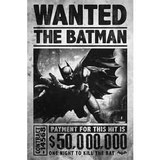 poszter Batman - Arkham Origins (Wanted) - PYRAMID POSTERS - PP33251
