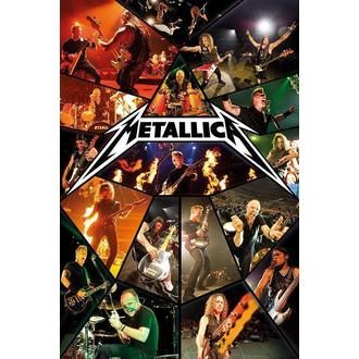 poszter Metallica - Live - PYRAMID POSTERS - PP33254
