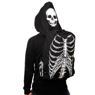 hátizsák BANNED - Skeleton - Black - BBN704