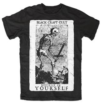 BLACK CRAFT férfi póló - Believe In Selfd - Black - MT003BF