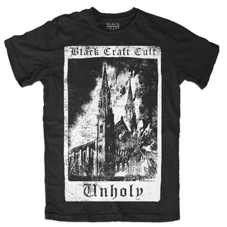 BLACK CRAFT férfi póló - Unholy Tarot - Black - MT083UT