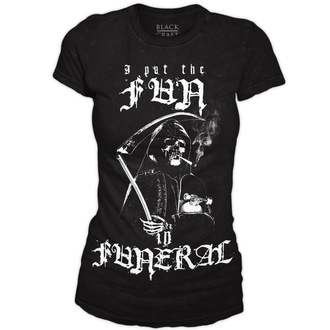 BLACK CRAFT női póló - Fun in Funeral - Black - WT021FL