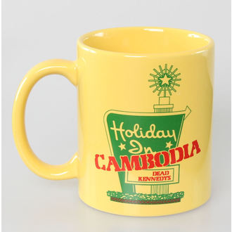 bögre Dead Kennedys - Holiday in Cambodia - ROCK OFF - DKMUG02