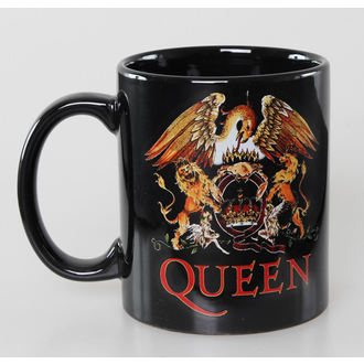 bögre Queen - Classic Crest - Black - ROCK OFF - QUMUG01
