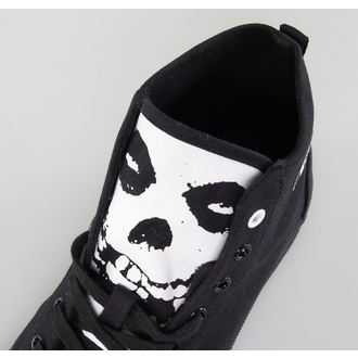 magasszárú cipő Misfits - Misfits High Top - IRON FIST - Black - IFUVUL2007LIC