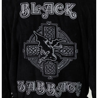 fürdőköpeny Black Sabbath - Cross Oversized - BLACK