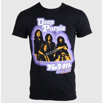 póló férfi Deep Purple - Black Night Japan - PLASTIC HEAD - PH8328