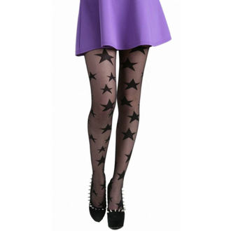 harisnyanadrág PAMELA MANN - All Over Stars Sheer Tights - Black - 086