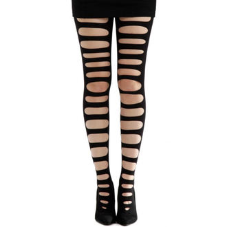harisnyanadrág PAMELA MANN - Front Slash Tights - Black - 089