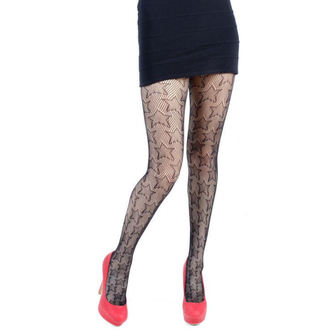 harisnyanadrág PAMELA MANN - Star Net Tights - Black - 112