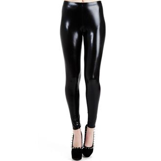 cicanadrág PAMELA MANN - Wet Look Leggings - Black - PM076