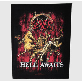 felvarró nagy Slayer - Hell Awaits - RAZAMATAZ - BP799
