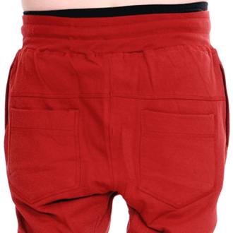 nadrág unisex (melegítő) 3RDAND56th - Carrot Fit Jogger - Bordó - JM1008