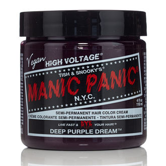 szín  haj MANIC PANIC - Classic - Deep Purple Dream