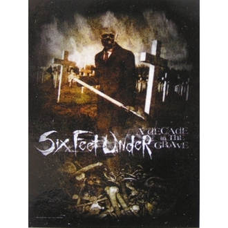 zászló Six Feet Under - Évtizede In The Grave - HFL 827
