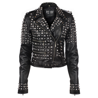 bőrdzseki női - Studded - KILLSTAR - Black