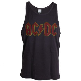 AC/DC férfi trikó - Logo - Charcoal - AMPLIFIED - ZAV319ACL