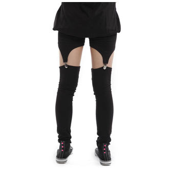 POIZEN INDUSTRIES női nadrág (leggings) - Suspender - Black
