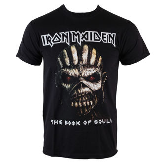Iron Maiden férfi póló - Book Of Souls - BLK - ROCK OFF - IMTEE44MB