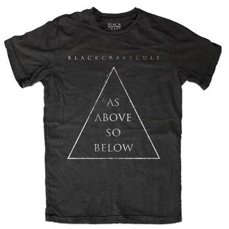 póló férfi - As Above So Below - BLACK CRAFT - MT109AW