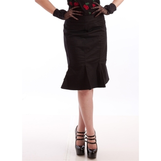 szoknya női NECESSARY EVIL - Damara Retro Tulip - Black