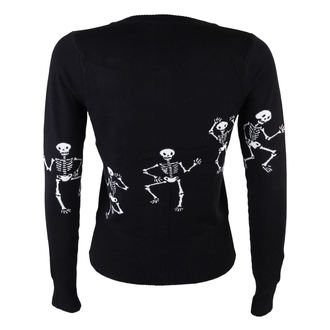 TOO FAST női szvetter - Cardigan - Dancing Skeletons