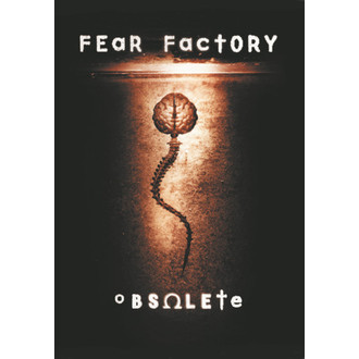 zászló Fear Factory - Elavult, HEART ROCK, Fear Factory