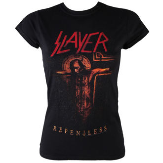 metál póló női Slayer - Repentless Crucifix - ROCK OFF - SLAYTEE28MB