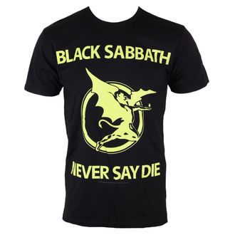 metál póló férfi Black Sabbath - Never Day Die - BRAVADO, BRAVADO, Black Sabbath