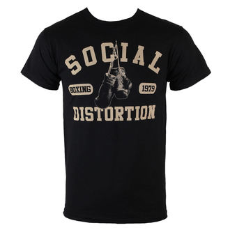 metál póló férfi Social Distortion - Boxing Gloves - BRAVADO - 31251050