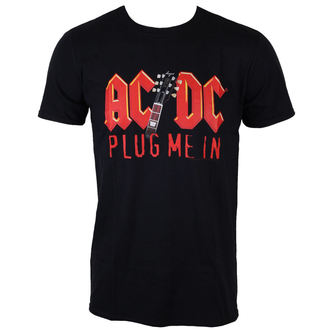 metál póló férfi AC-DC - Plug me in with Angus Young - LOW FREQUENCY - ACTS050012