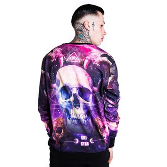 KILLSTAR (unisex) pulóver- Ancient Space - Black - KIL220