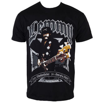 metál póló férfi Motörhead - Lemmy Iron Cross 49 Percent - ROCK OFF - LEMTS01MB