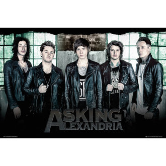 Asking Alexandria poszter - Window - GB posters, GB posters, Asking Alexandria