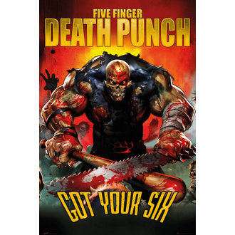 Five Finger Death Punch poszter - Got Your Six - GB posters, GB posters
