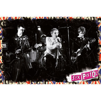 Sex Pistols poszter - On Stage - GB posters, Sex Pistols