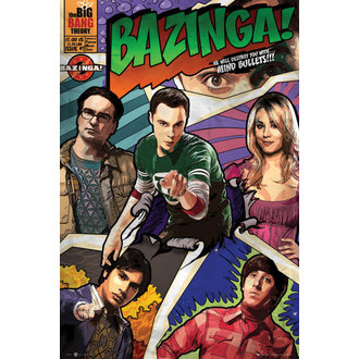 The Bing Bang Theory poszter - Comic - GB posters, GB posters