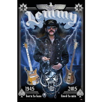 Lemmy poszter - Born To Lose - GB posters - LP2051