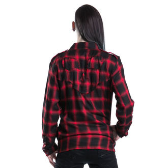 POIZEN INDUSTRIES férfi ing - Corner Shirt - Red - POI087