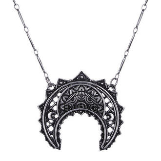 Restyle nyaklánc - henna félhold Silver - RES048