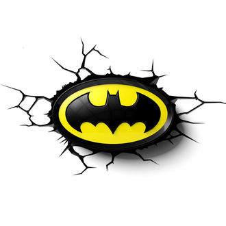Batman dekoráció - DC Comics 3D LED Light - 3DL0372