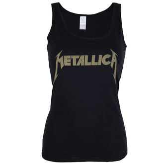 Metallica női top - Hetfield Iron Cross Guitar - Black - ATMOSPHERE, NNM, Metallica