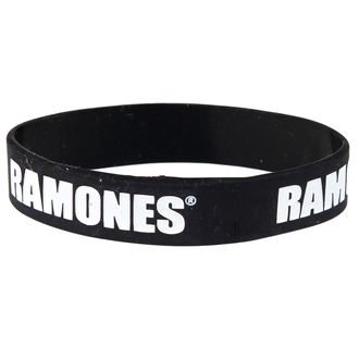 Ramones karkötő - Logo Gummy Band - ROCK OFF - RAGUM01