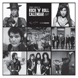 2017-es falinaptár Terry O'Neill's Rock 'n' Roll, PYRAMID POSTERS