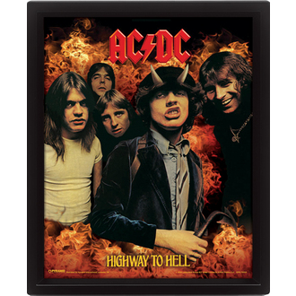 3D-s kép  AC  /  DC  - Highway to Hell, PYRAMID POSTERS, AC-DC